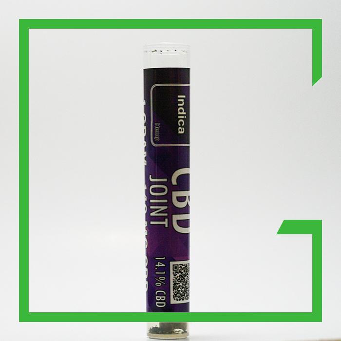 indica cbd joint